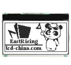 2.8 inch 128x64 Graphic Module Serial Display SPI LCD w/OPTL Touch Screen ERC12864FS-655